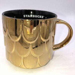 Gold Starbucks Coffee Mug