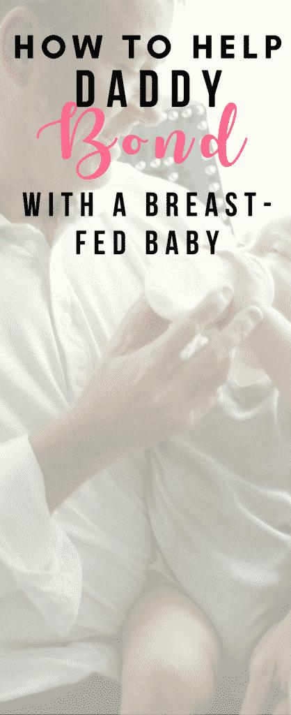 breastfed baby bonding