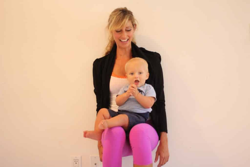 postpartum workout squat