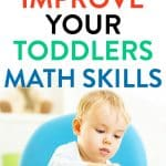 Math activities to help toddlers early learning of math concepts