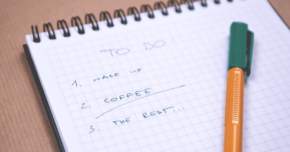 list of tasks