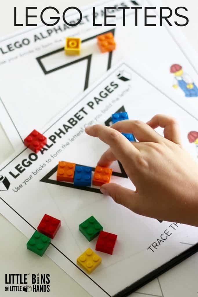 educational lego printables