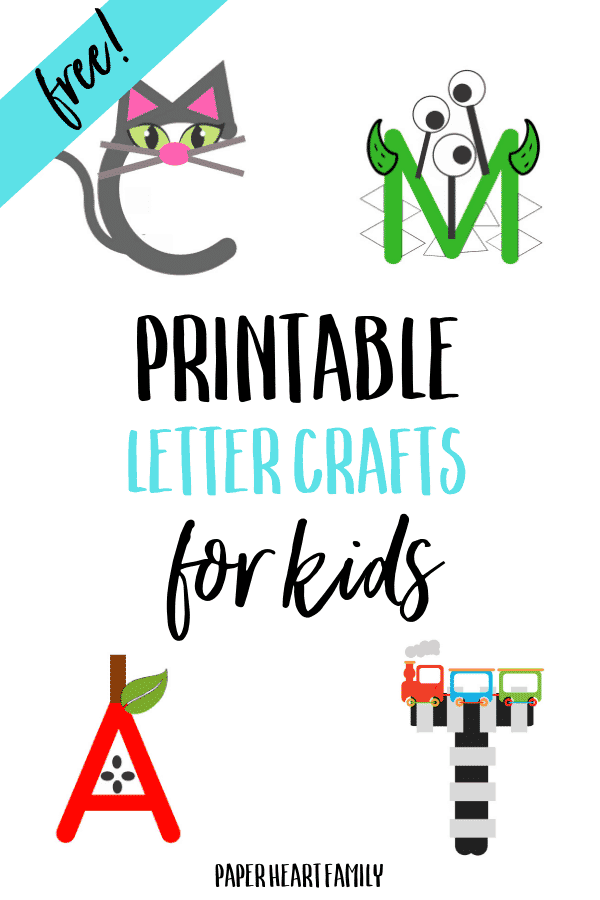 educational letter crafts