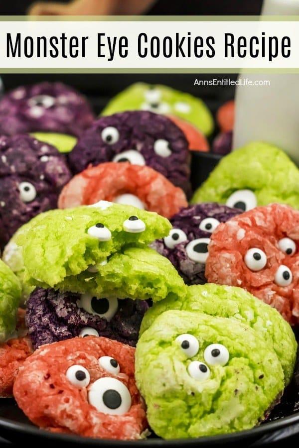 monster eye cookie recipe