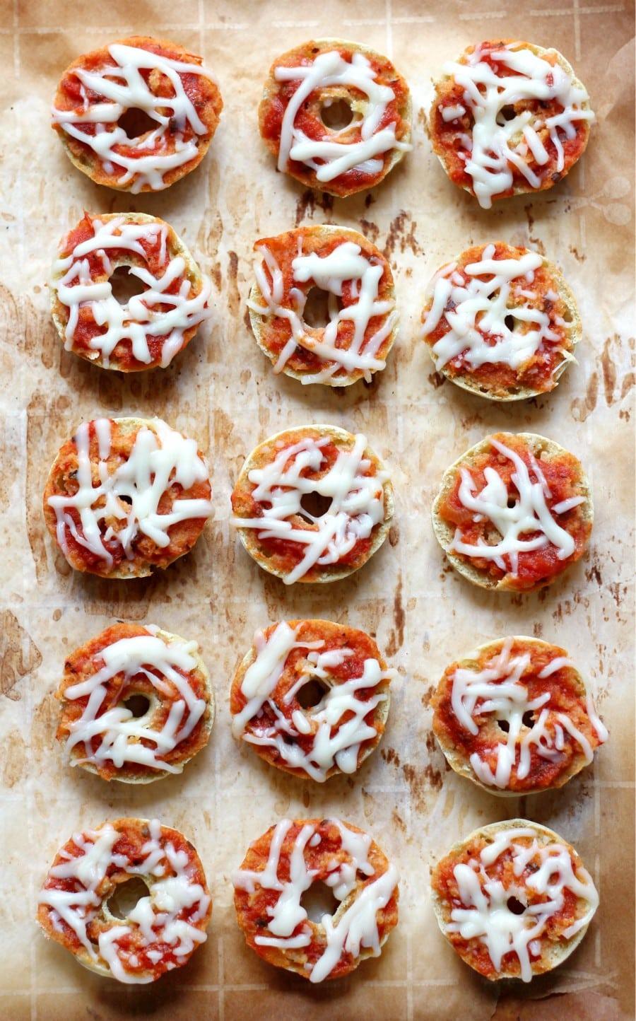 pizza bagel recipe