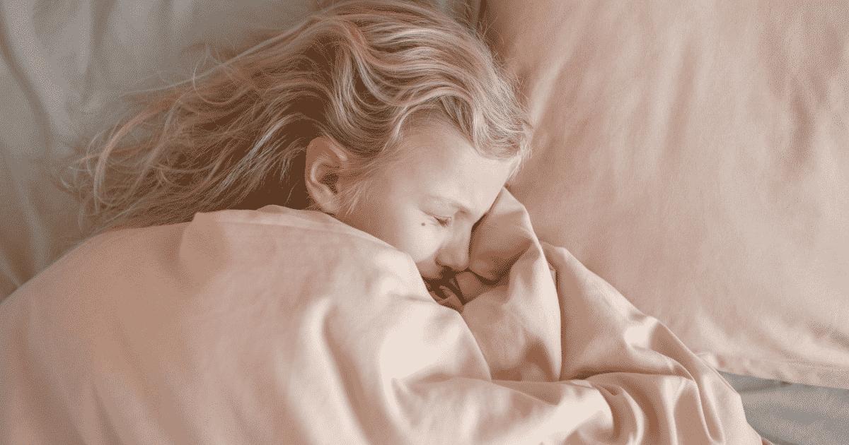stressed little girl