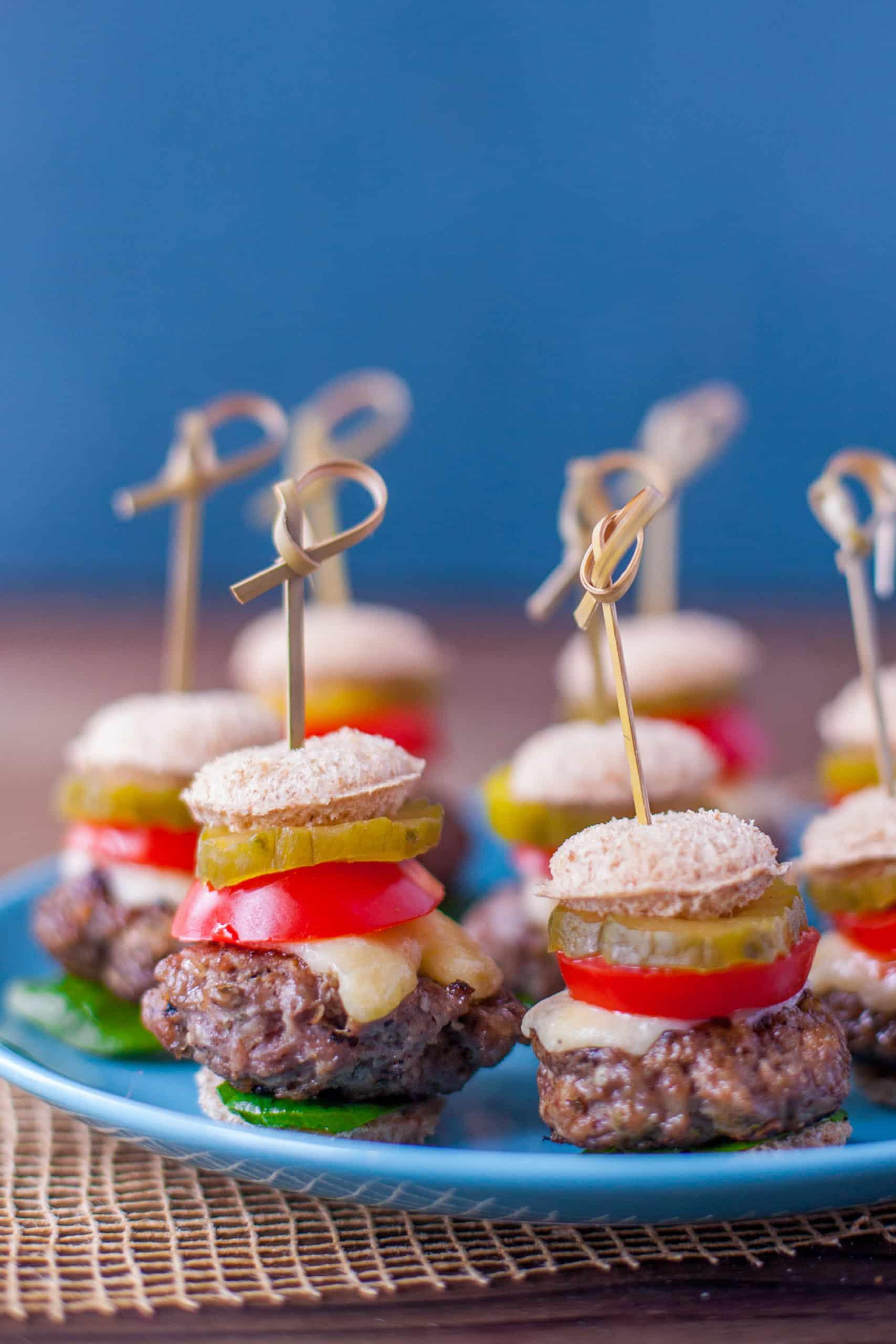 fingerfood burger recipe